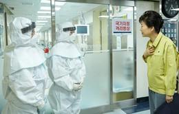 Tổng thống Hàn Quốc thăm bệnh viện điều trị MERS