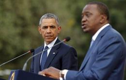 Tổng thống Mỹ kết thúc chuyến thăm Kenya