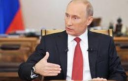 Tổng thống Nga Putin tiếp tục là nhân vật quyền lực nhất thế giới