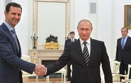 Tổng thống Syria Bashar al-Assad bất ngờ tới thăm Nga