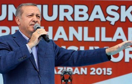 Hơn 53,7 triệu cử tri Thổ Nhĩ Kỳ bỏ phiếu bầu Quốc hội mới