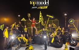 Thanh Hằng khoe dáng chuẩn trong bộ ảnh quảng bá Vietnam's Next Top Model 2015