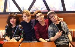 Hé lộ single sắp ra mắt của top 4 Học viện ngôi sao 2015