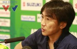 """Thắng Lào, HLV Toshiya Miura vẫn chê """"hàng công mắc quá nhiều lỗi"""""""