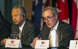 Đàm phán TPP chưa có tiến triển