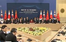 Trung-Nhật-Hàn nhất trí nối lại cơ chế hợp tác ba bên