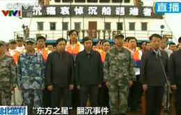Trung Quốc tưởng niệm các nạn nhân vụ chìm tàu