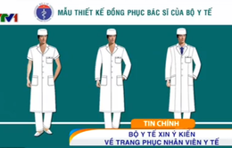 Các mẫu trang phục mới cho bác sĩ