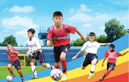 Toyota lần đầu khởi động Trại hè bóng đá thiếu niên