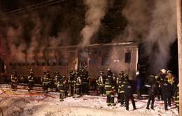 Mỹ: Tai nạn tàu hỏa tại New York