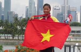 SEA Games 28: Trương Thị Phương nghẹn ngàovới HCV môn Canoeing