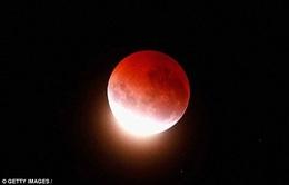 """Thế giới đón chờ """"siêu trăng đỏ"""""""