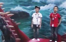 Bảo tàng tranh 3D Manila: Trò đùa của con mắt