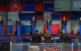 Ứng viên Đảng Cộng hòa tranh luận gay gắt về chính sách nhập cư