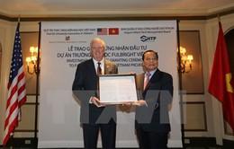 Chương trình học bổng Fulbright, cầu nối giáo dục Việt Nam - Hoa Kỳ