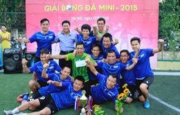 Ban Sản xuất các chương trình Thể thao vô địch Giải bóng đá Mini VTV 2015