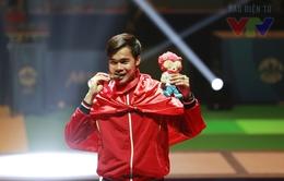 """Nguyễn Tiến Nhật đã """"mở hàng"""" HCV SEA Games 28 cho TTVN như thế nào?"""