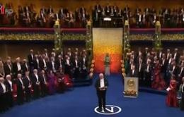 Lễ trao giải Nobel 2015 được tổ chức trang trọng ở Thụy Điển