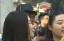 """Trung Quốc:  """"Tóc cây"""" - Trào lưu mới thu hút giới trẻ"""