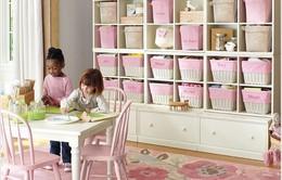 15 ý tưởng giúp phòng của trẻ luôn gọn gàng