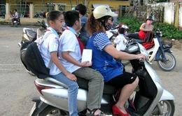 Hôm nay (10/4), xử phạt không đội mũ bảo hiểm cho trẻ em