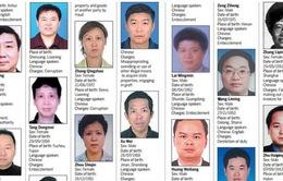Trung Quốc công khai danh sách quan tham trốn ở nước ngoài