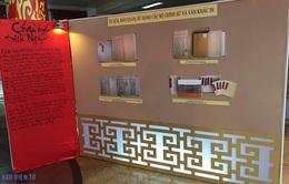 Trưng bày 100 phiên bản tài liệu Châu Bản và Mộc bản triều Nguyễn