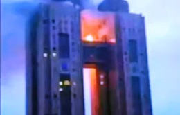 Hỏa hoạn tại khách sạn nổi tiếng ở Triều Tiên