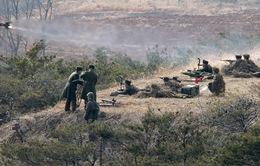Triều Tiên tập trận bắn đạn thật