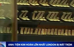 Mất trộm tại tiệm kim hoàn lớn nhất London