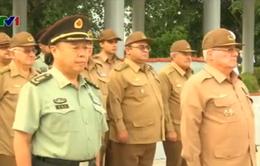 Phó Chủ tịch Quân ủy Trung ương Trung Quốc thăm Cuba