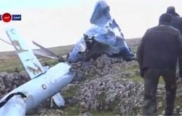 Máy bay quân sự Syria bị rơi tại khu vực phiến quân kiểm soát