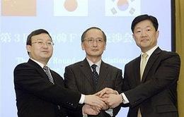 Hàn Quốc, Nhật Bản, Trung Quốc tiếp tục đàm phán FTA