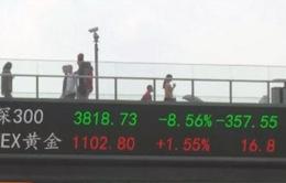 TTCK Trung Quốc sụt giảm, tiểu thương lao đao