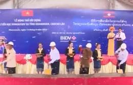 Thủ tướng Nguyễn Tấn Dũng dự lễ động thổ xây dựng trường Dongkasen