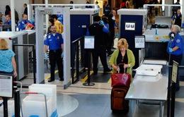 Mỹ: Sa thải 73 nhân viên an ninh sân bay