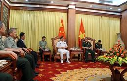 Bộ trưởng Phùng Quang Thanh tiếp đoàn đại biểu Quốc phòng Trung Quốc