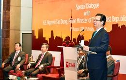 Thủ tướng dự Đối thoại với Câu lạc bộ Doanh nhân ASEAN