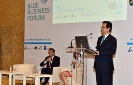 Thủ tướng Nguyễn Tấn Dũng dự Diễn đàn Kinh tế biển Lisbon