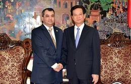 Thủ tướng Nguyễn Tấn Dũng tiếp Chủ tịch IPU