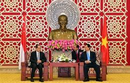 Thủ tướng Nguyễn Tấn Dũng tiếp Bộ trưởng Công thương Singapore