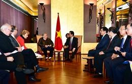 Thủ tướng tiếp Tổng Thư ký Hội hữu nghị Pháp-Việt