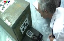 Thiết bị rò rỉ phóng xạ đã được đặt vào vị trí an toàn