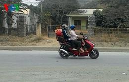 TP. HCM:Hàng nghìn người đi xe máy về quê ăn Tết