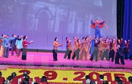 """Đêm nhạc """"Việt Nam - Thời đại Hồ Chí Minh"""" quy tụ  500 diễn viên, nghệ sĩ"""
