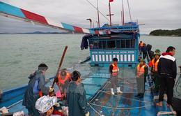 Thanh Hóa: Gấp rút triển khai công tác tìm kiếm 4 ngư dân bị mất tích