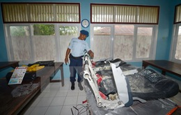 Indonesia xác nhận tìm thấy phần đuôi chiếc máy bay QZ8501