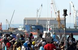 Đức điều tàu giải cứu 200 người di cư trên biển Địa Trung Hải