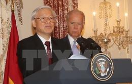 Tổng Bí thư Nguyễn Phú Trọng dự chiêu đãi của Chính phủ Hoa Kỳ