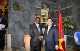 Tăng cường hợp tác Việt Nam - Angola